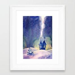 New Year's Eve Framed Art Print