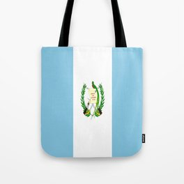 Flag of Guatemala- Guatemalan, Mixco,Villa Nueva,Petapa,tropical,central america,spanish,latine Tote Bag