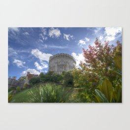 Round Tower - Windsor Castle Canvas Print