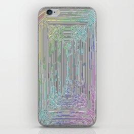 Free Rainbow Border iPhone Skin