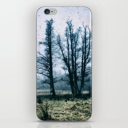 Bare Winter Trees iPhone Skin