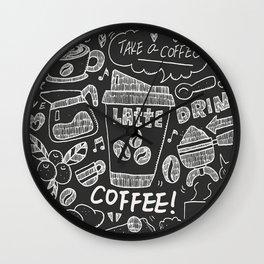 Coffee Lover!! Wall Clock
