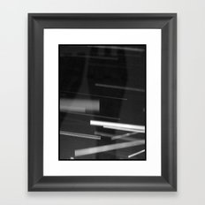 Mysterious Monument with Snow 2 Framed Art Print