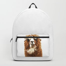 Alpaca Portrait Backpack