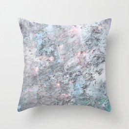 Blur Coral Throw Pillow