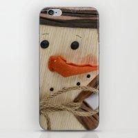 snowman iPhone & iPod Skins featuring Snowman  by IowaShots