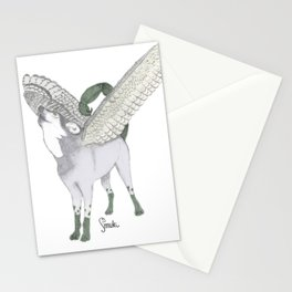 Zodiacal Chimera: The wolf Stationery Cards
