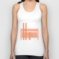 cigarette Tank Tops featuring Cigarette Factory by Peter Cassidy