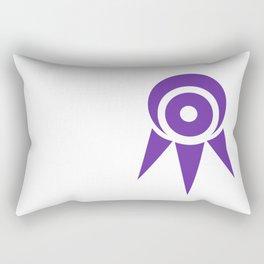 Seeker's Eye - Minimal Rectangular Pillow
