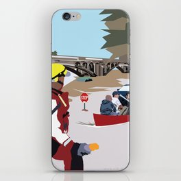 SC Flood iPhone Skin