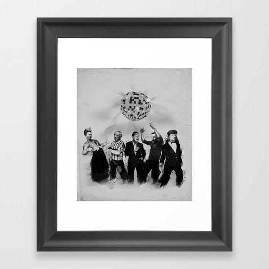 ART MOVEMENT! Framed Art Print