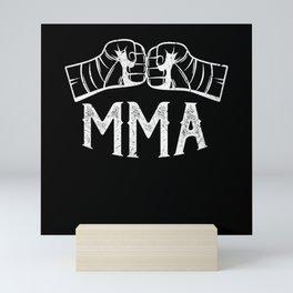 MMA Mixed Martial Arts Mini Art Print