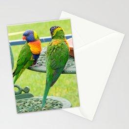 Rainbow Lorikeets Stationery Cards