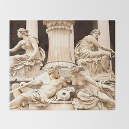 Beautiful Sculptures #decor #society6 Throw Blanket