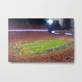 Clemson Memorial Stadium Metal Print