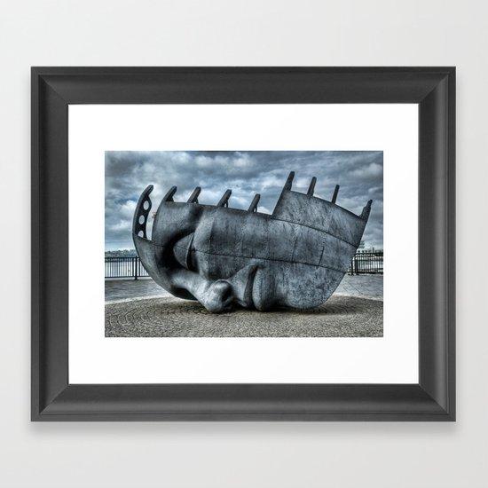 Maritime Memorial Framed Art Print