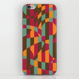 Abstract Graphic Art - Roller Coaster iPhone Skin