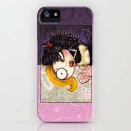 Good Girl Bad Girl iPhone Case