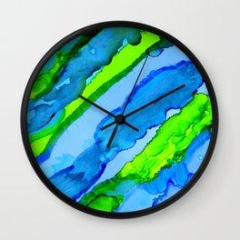 Aqua Formation Wall Clock