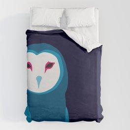 Fancy Owl Duvet Cover