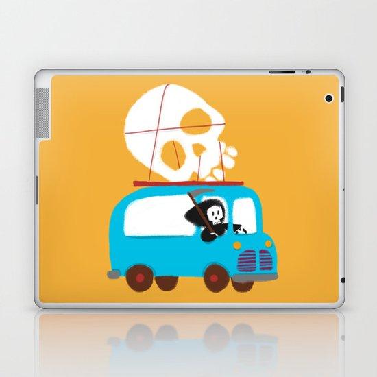Death on wheels Laptop & iPad Skin