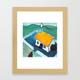 The West of Ireland - Home to a fire Framed Art Print