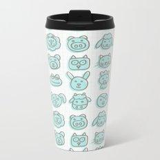 animal cuteness Metal Travel Mug
