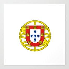 Portuguese Flag (Bandeira Portuguesa) Canvas Print