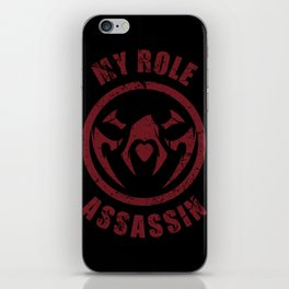 The Role iPhone Skin