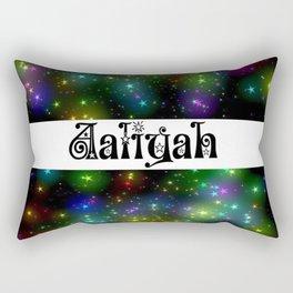 aaliyah stars Rectangular Pillow