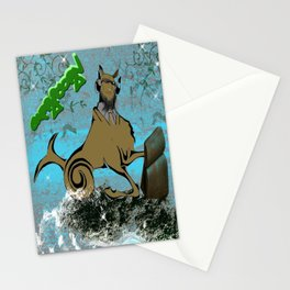 Capricorn Astrology Sign Stationery Cards