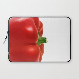 Red bell pepper isolated Laptop Sleeve