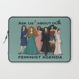 Feminist Agenda Laptop Sleeve