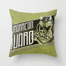 Protection Services Throw Pillow