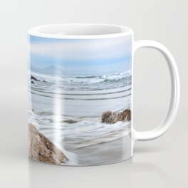 A Starfish Hangs on for Dear Life Coffee Mug
