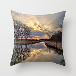 Easter River 3 Throw Pillow