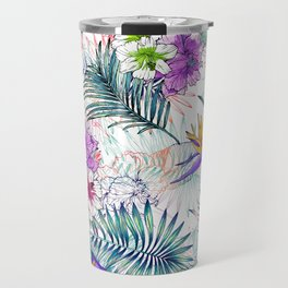 Summer tropical Travel Mug