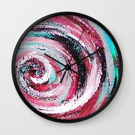 Spiral honeymoon Wall Clock