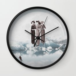 Natural Inhabitants II Wall Clock