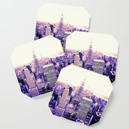 Lavender New York Coaster