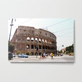 'Colosseo' (ROMA Series) Metal Print