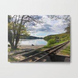 Miniature Railways In Wales Metal Print