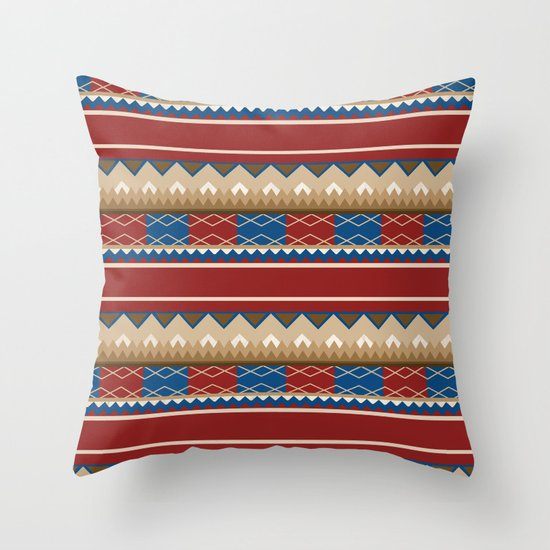Navajo Pattern 2 Throw Pillow