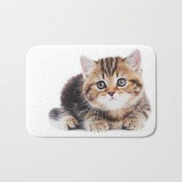 Lonely Kitten Bath Mat