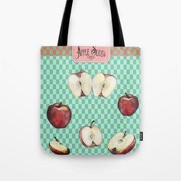 Apple Slices - 2 Tote Bag