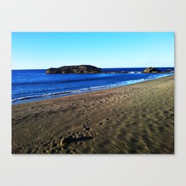 Barceloneta @ Puerto Rico 5 Canvas Print