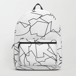 Folded Outline Backpack