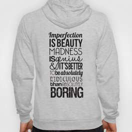 Imperfection Hoody