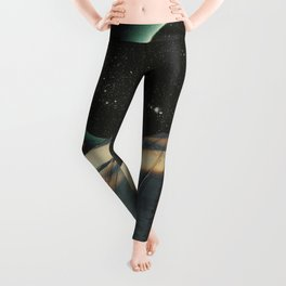 Escaping into the Void Leggings