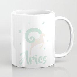 Aries March 21 - April 19 - Fire sign - Zodiac symbols Coffee Mug